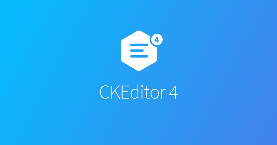 CKEditor 4 - Resources