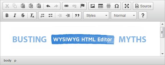 Top WYSIWYG Editor Myths