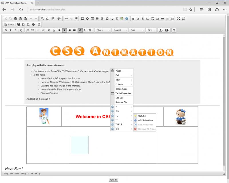 CSS Animations   CKEditor com
