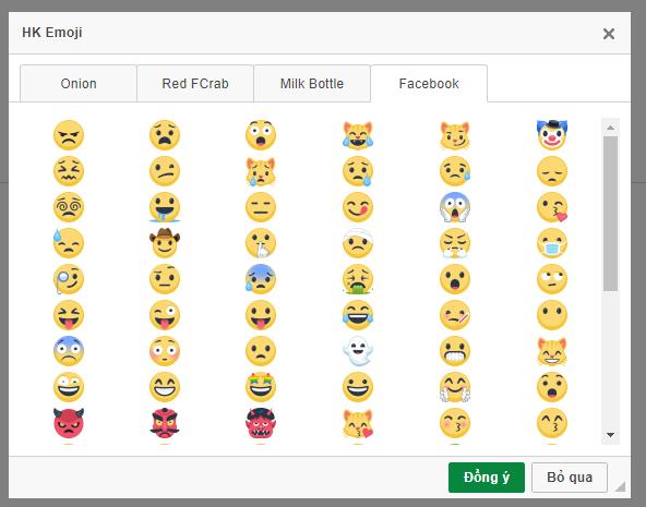 HKemoji - custom emoji - smiley | CKEditor com