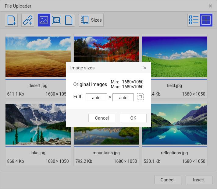 File Uploader | CKEditor com