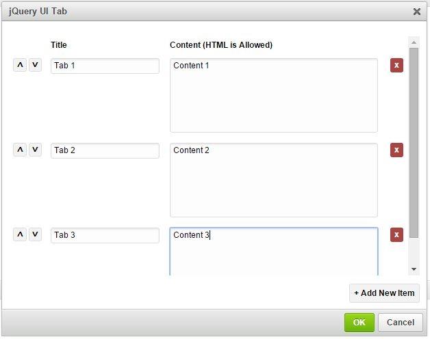 jQuery UI Tabs | CKEditor com