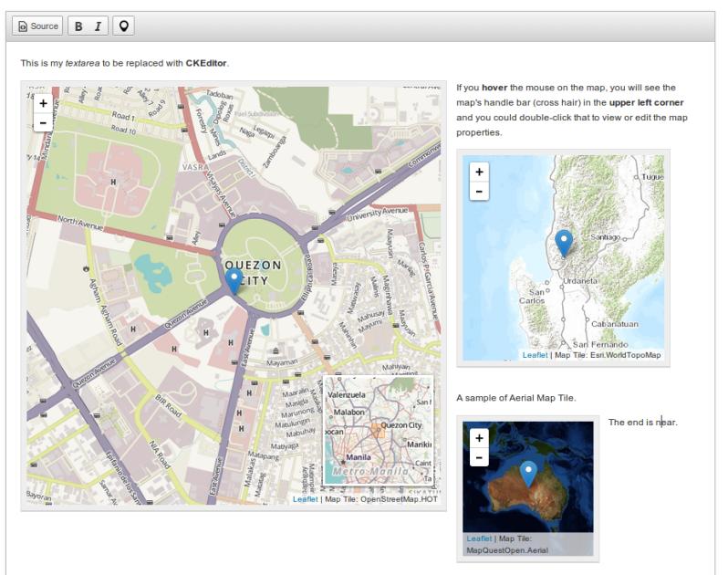 leaflet yandex maps