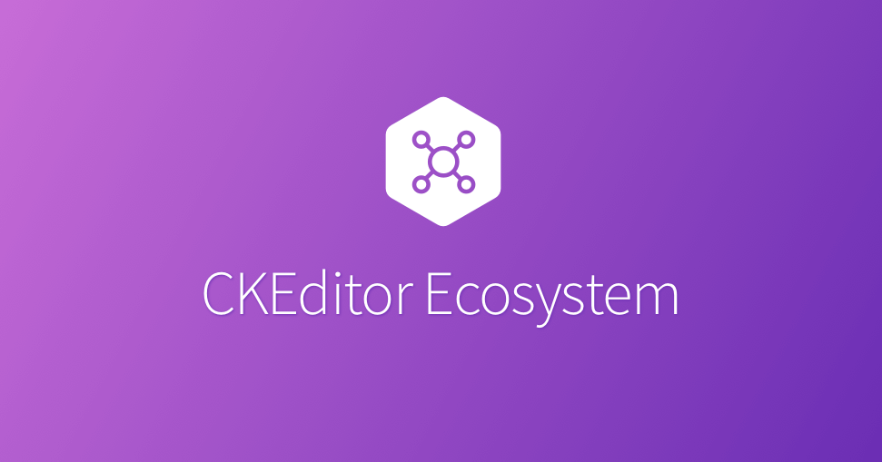 Advanced setup - CKEditor 5 Documentation