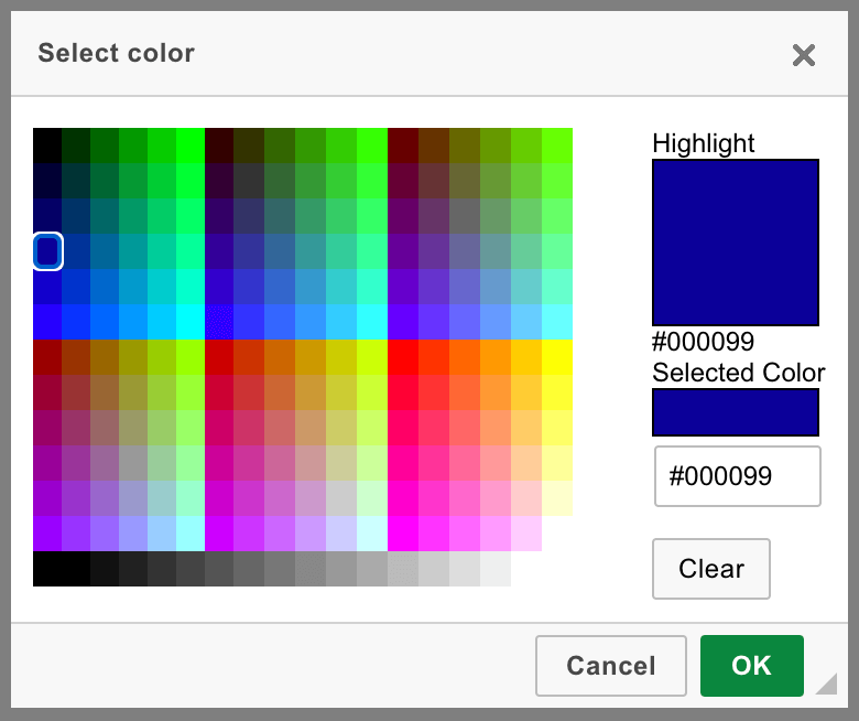 Text and Background Color - CKEditor 4 Documentation