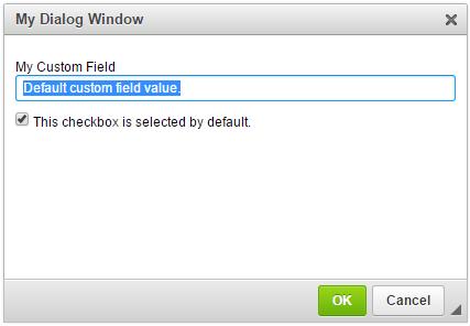 Dialog Windows - CKEditor 4 Documentation