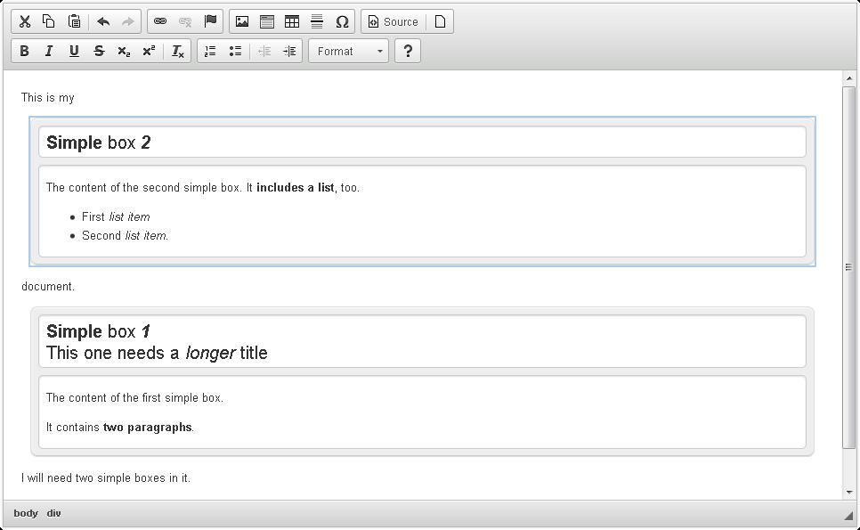 Widget Tutorial (Part 1) - CKEditor 4 Documentation