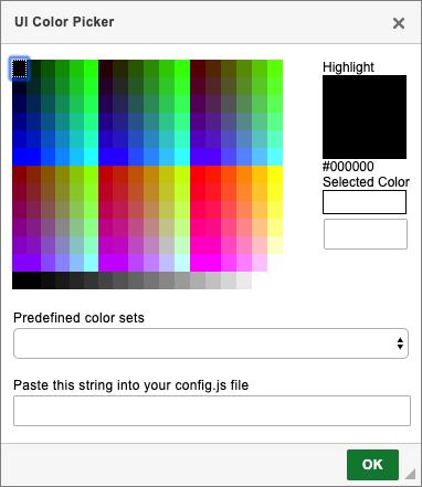 UI Color Picker - CKEditor 4 Documentation