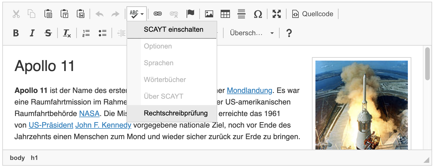 UI Language - CKEditor 4 Documentation