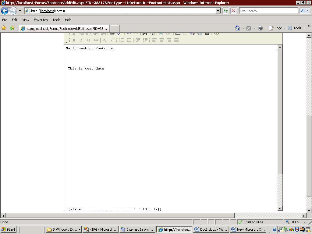 ScrollBar Issue in FCKEditor in IE  | CKEditor com Forums